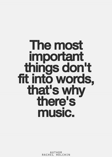 The most important...
